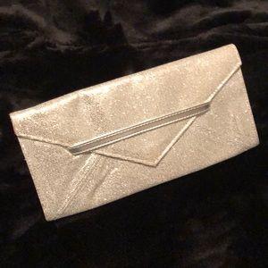 Victoria's Secret- Sliver sequin clutch